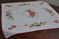 Tablecloth embroidered